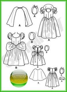 Disneys Snow White Cinderella Costume Patterns Toddlers
