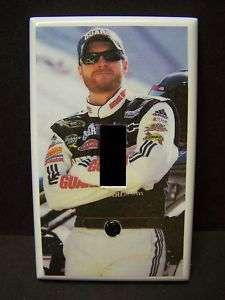 DALE EARNHARDT JR NASCAR #1 LIGHT SWITCH COVER PLATE