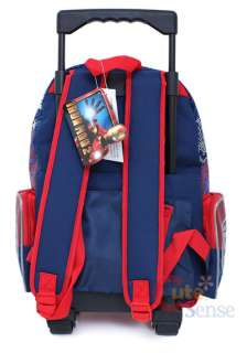 Marvel Iron Man Roller School Backpack/Bag  16 Large