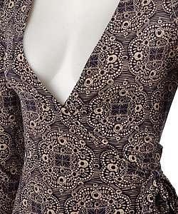 BCBG Max Azria Jersey Knit Wrap Dress