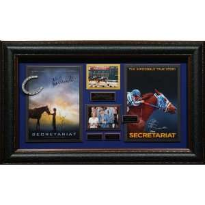 Secretariat Cast Signed Home Theater Movie Display   Sports