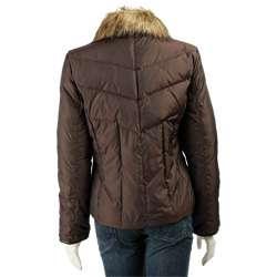 MICHAEL Michael Kors Short Down Faux Fur Jacket