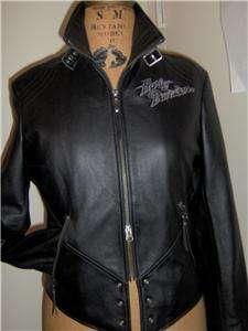 Harley Davidson Leather Jacket Isis Tribal Eagle Butter Soft