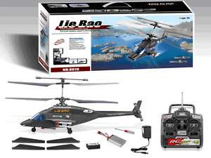 BIG AIR WOLF 65 CM 4 CHANNEL RC HELICOPTER