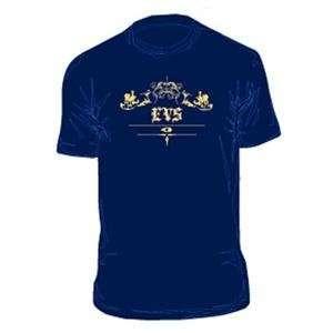 EVS Lions T Shirt   2X Large/Navy Automotive