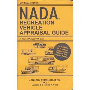 N.A.D.A. Recreation Vehicle Appraisal Guide (January