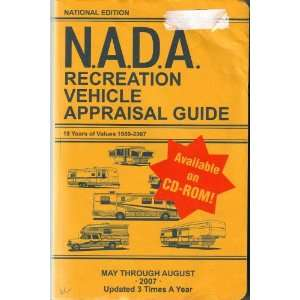 N.A.D.A. Recreation Vehicle Appraisal Guide (May Through