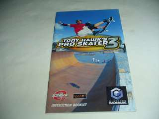 Manual ONLY Tony Hawk Pro Skater 3   Nintendo Gamecube