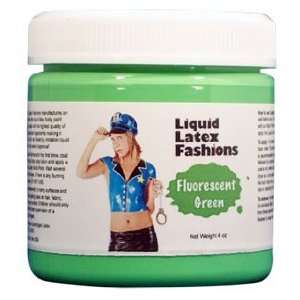 Ammonia Free Liquid Latex Body Paint   4oz Fluorescent