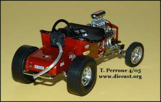 Danbury Mint 124 1925 Ford Altered T Dragster diecast car