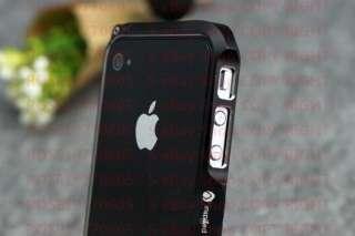 Aluminium Bumper Metal Case Cover for Genuine Apple iPhone 4 and 4S