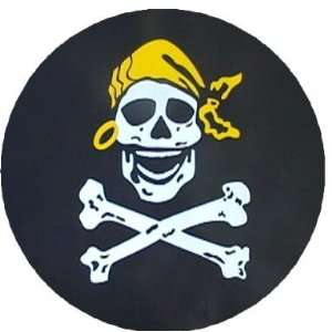 Pirate Skull and Crossbones Spare Tire Covers: Sports