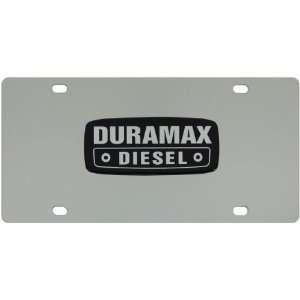 Duramax Diesel Stainless Steel License Plate Tag from Redeye