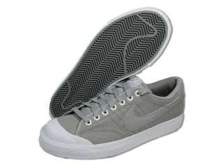 NIKE Men Shoes All Court Canvas Grey White Casual Shoes