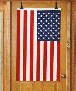 New Over the Door American Flag Set Patriotic Decor