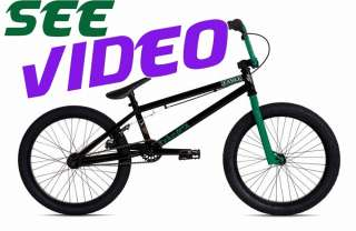 FICTION BMX Bike FABLE 2 Black Ghoul by STOLEN Bicycle Dirt Street