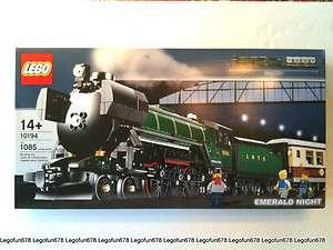 Lego 10194 Emerald Night Train New In Factory Sealed Box