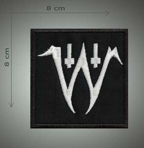 Electric wizard W   Embroidered patch