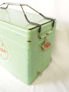 Nice! Vintage Dr. Pepper Metal Ice chest/ Cooler
