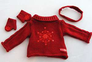 American Girl HOLIDAY SWEATER SET ~ NIP ~ LIMITED EDITION