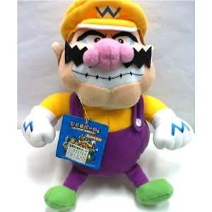 Super Mario Bros. Wario Plush Figure Toys & Games