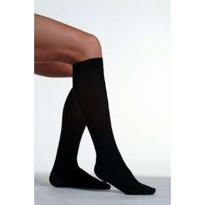 Ribbed 20 30 mmHg Knee High Compression Socks