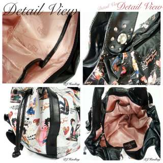 New Fashion Women Betty Boop Handbag Purse MP 05