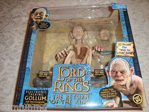 Lord of Rings ELECTRONIC TALKING GOLLUM Figure [NEW]