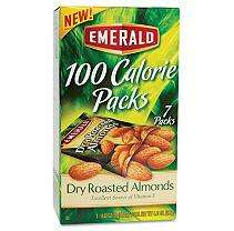 ® 100 Calorie Pack Dry Roasted Almonds   7 pks./box