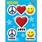 Net Sales Peace Love & Happiness Decal Sticker