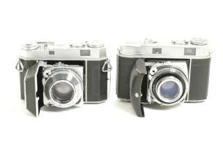 Two 2 Kodak Rangefinder Retina IIa IIc 35mm SLR film camera body lot