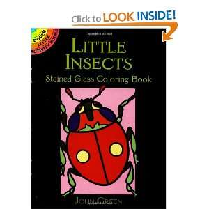 Insects Stained Glass Coloring Book (Dover Stained Glass Coloring Book