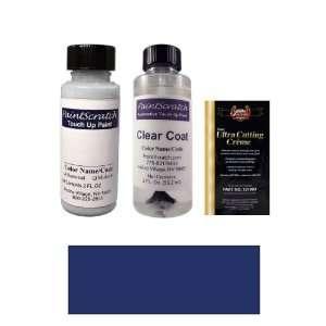 2 Oz. Caribbean Blue Metallic Paint Bottle Kit for 1993