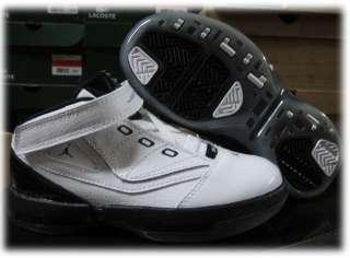 Nike Jordan 16.5 White Black Infant Toddler Shoes Sz 9