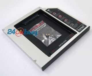 2ND SATA HDD HARD DISK DRIVE caddy Dell Latitude E6400