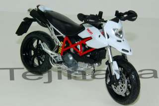 12 DUCATI HYPERMOTARD Diecast Model Street Bike (W)