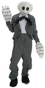 Disney Nightmare Before Christmas JACK SKELLINGTON Mens Deluxe Costume
