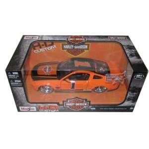 2011 Ford Mustang GT Harley Davidson Orange #1 1/24 by