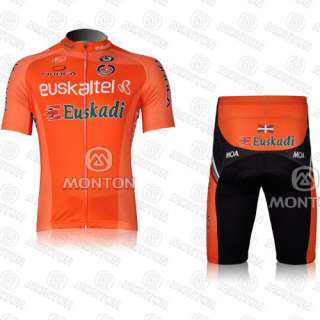 Bicycle bike Comfortable Outdoor Jersey + Shorts Size M  XXL