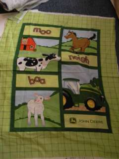 John Deere Tractor Blanket Baby Child