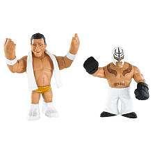WWE Rumblers Action Figures 2 Pack   Alberto Del Rio & Rey Mysterio