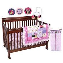 Disney Minnie Mouse 8 Piece Crib Bedding Set   Disney   Babies R