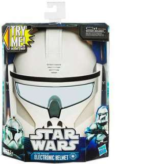 Star Wars Electronic Helmet   Clone Trooper   Hasbro