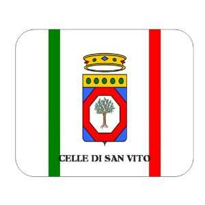 Italy Region   Apulia, Celle di San Vito Mouse Pad