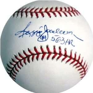 Reggie Jackson Autographed 77 WS MVP MLB Baseball Toys & Games