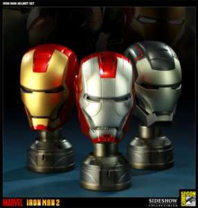 Sideshow Iron Man   Helmet Set Limited 1200pcs