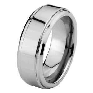 6mm Cobalt Free Tungsten Carbide COMFORT FIT Wedding Band Ring for Men