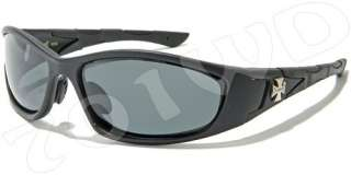 New Mens Choppers POLARIZED Fishing Motorcycle Sunglasses Black Red