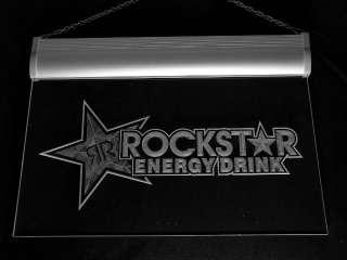 a228 b Rockstar Energy Drink Beer Bar Neon Light Sign