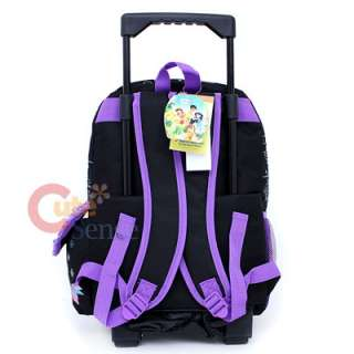 Tinkerbell Fairies School Roller Backpack Rolling Bag Butterfly 4